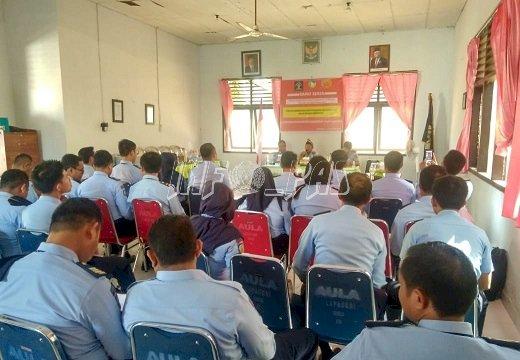 Dukung Crash Program, PK Harus Pro Aktif Laksanakan Tusi Pemasyarakatan