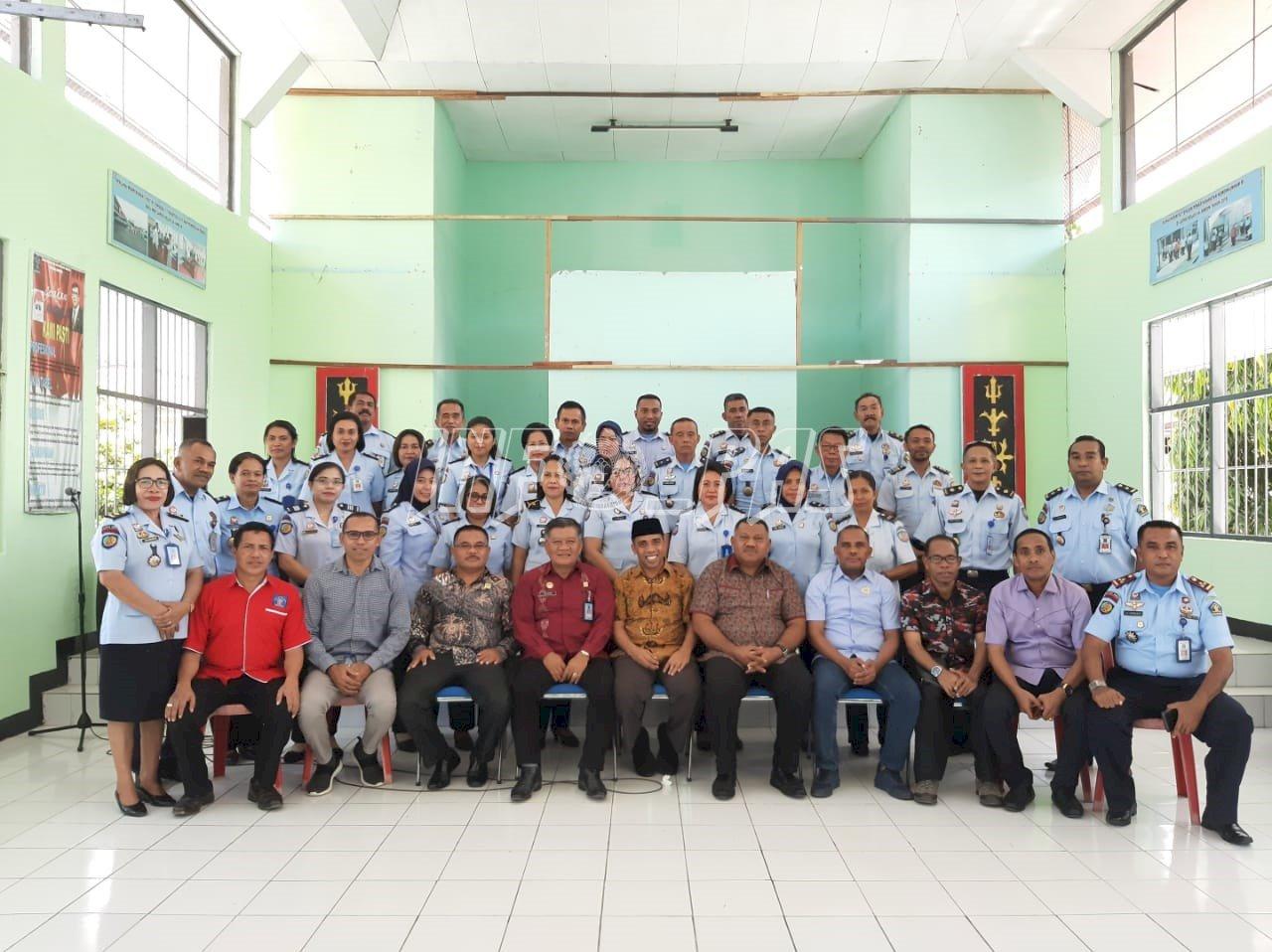 Lapas Ambon Terima Kunker Komisi I DPRD Provinsi Maluku