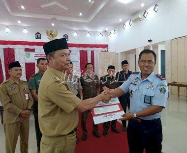 Lapas Sukamara Terima DIPA & Pakta Integritas Tahun 2020