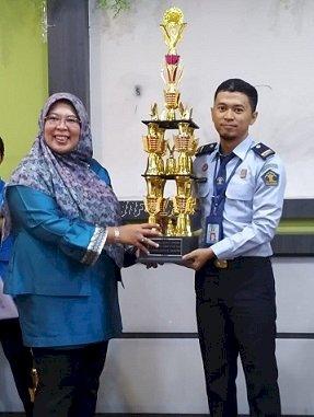 PK Bapas Pontianak Juarai Short Story Competition Tingkat Nasional 2019