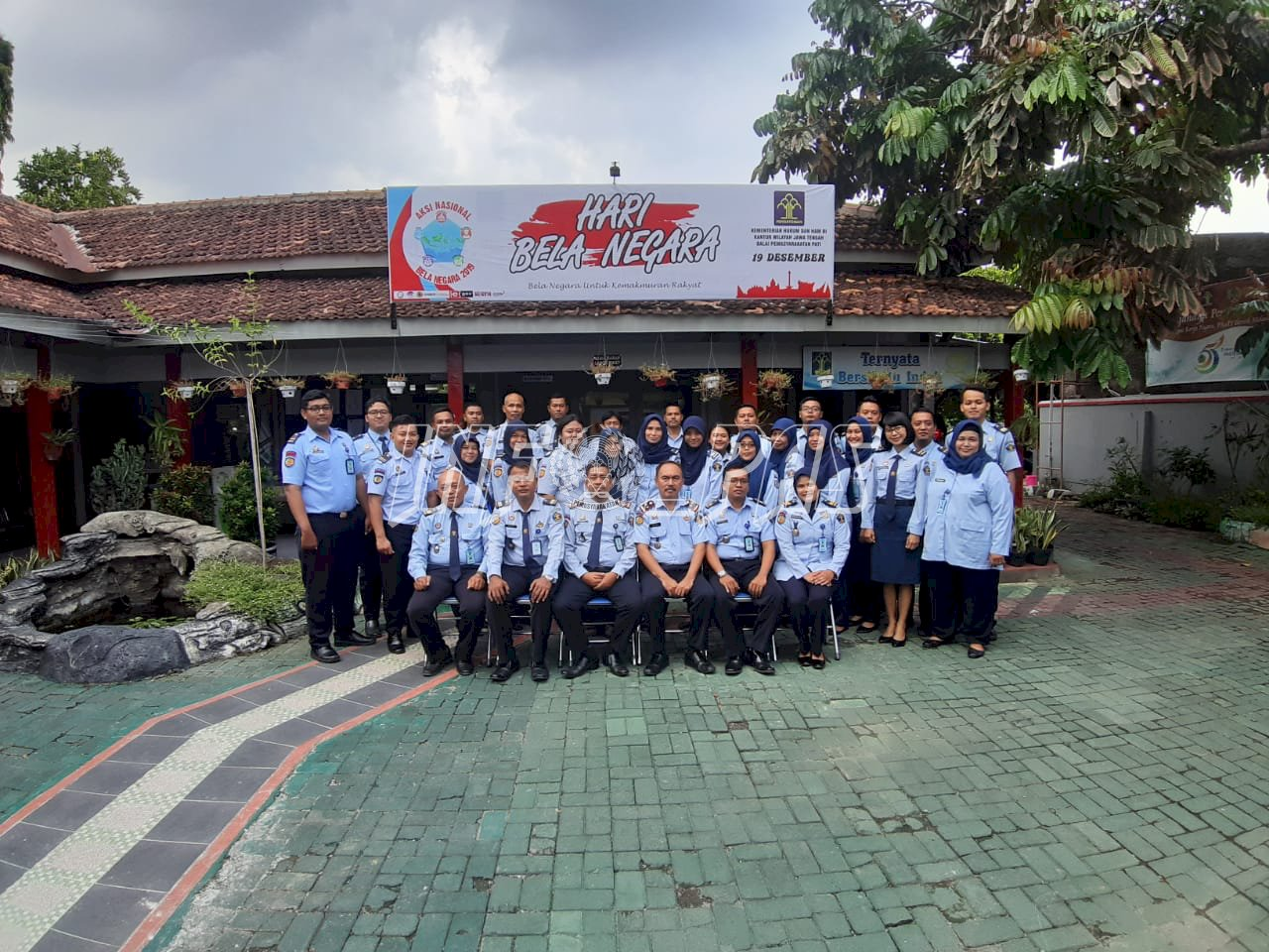 Jalin Silaturahmi, Bapas Kelas II  Klaten Kunjungi Bapas Pati