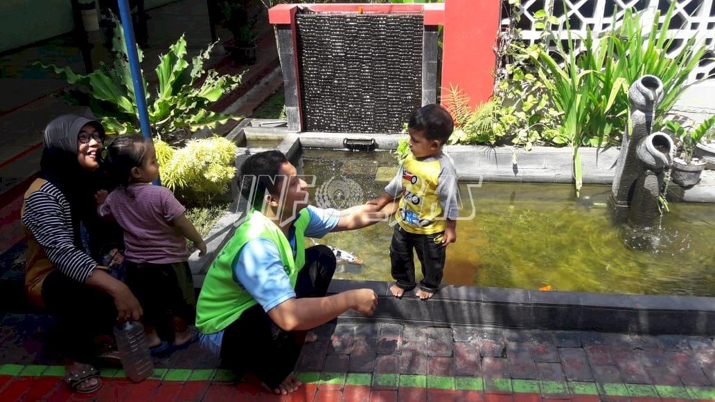 Manjakan Pengunjung Anak, Rutan Kudus Sediakan Fasilitas Bermain