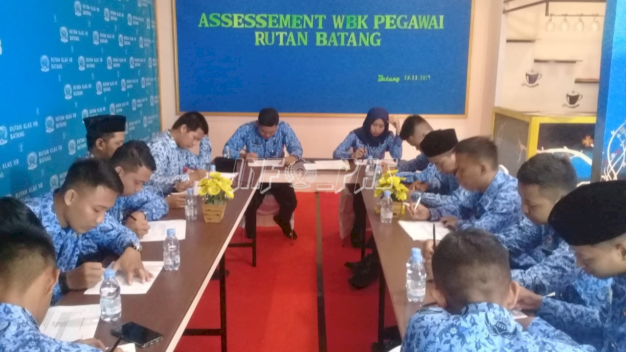 Targetkan WBK Tahun 2020, Rutan Batang Asesmen Calon Tim Pokja WBK