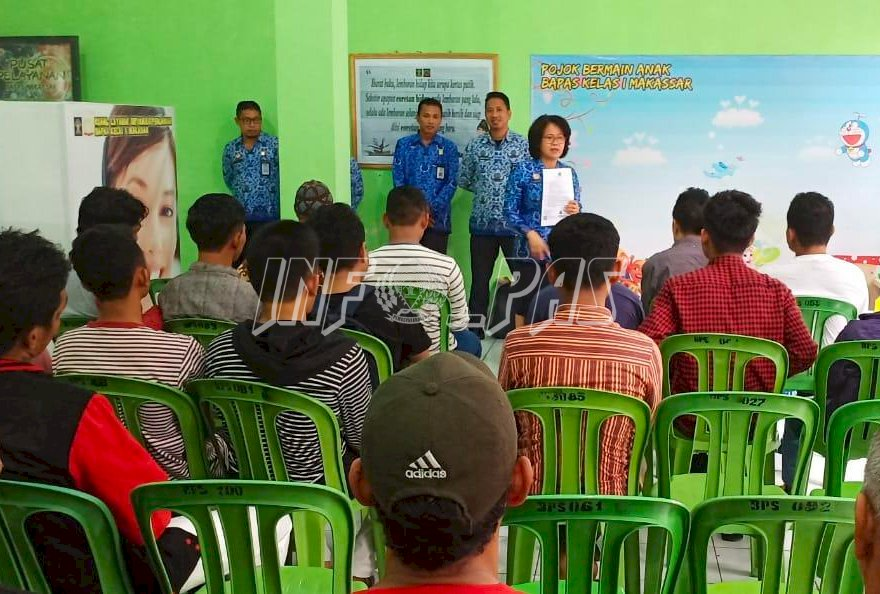 Bapas Makassar Terima 48 Orang Klien Bebas Reintegrasi Crash Program