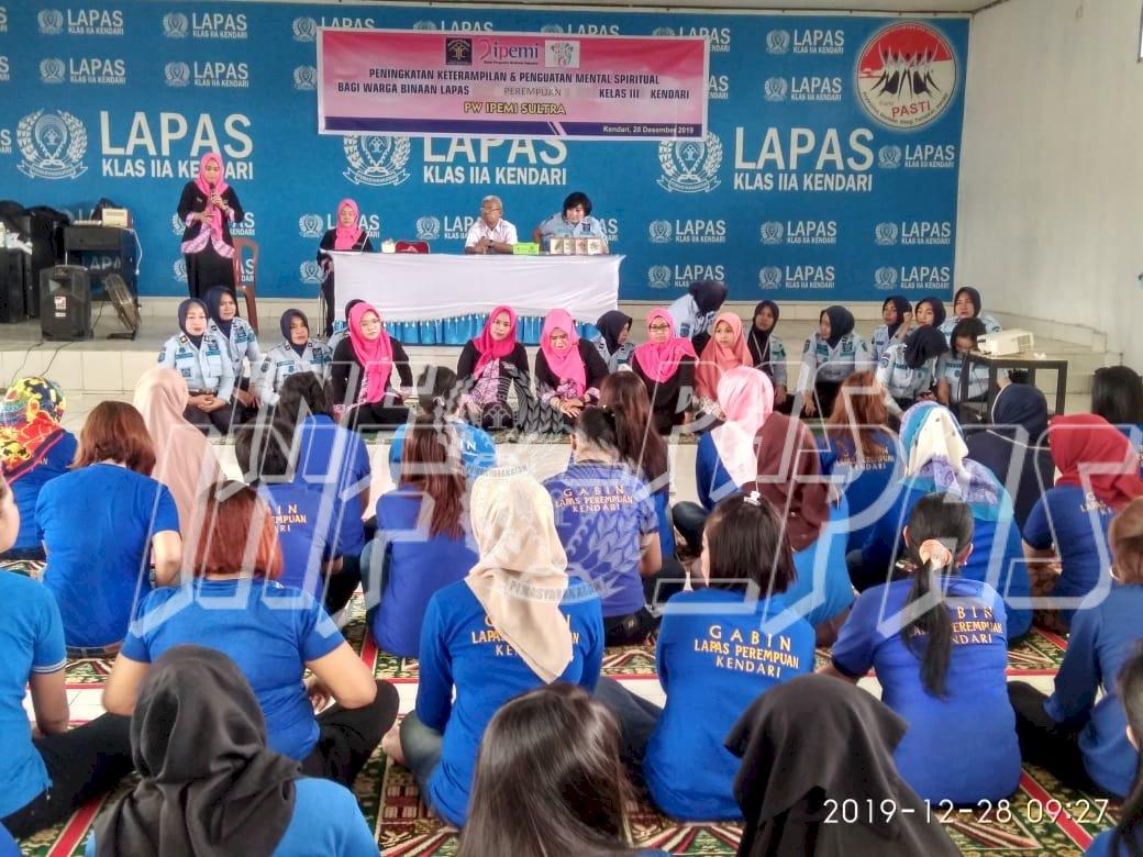 IPEMI Beri Pelatihan Keterampilan dan Penguatan Spritual untuk WBP Lapas Perempuan Kendari