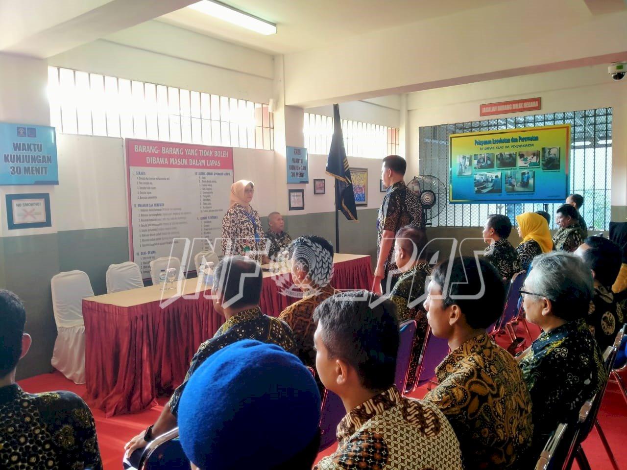 Kadiv PAS Yogyakarta: Amalkan Nilai PASTI dalam Laksanakan Tugas