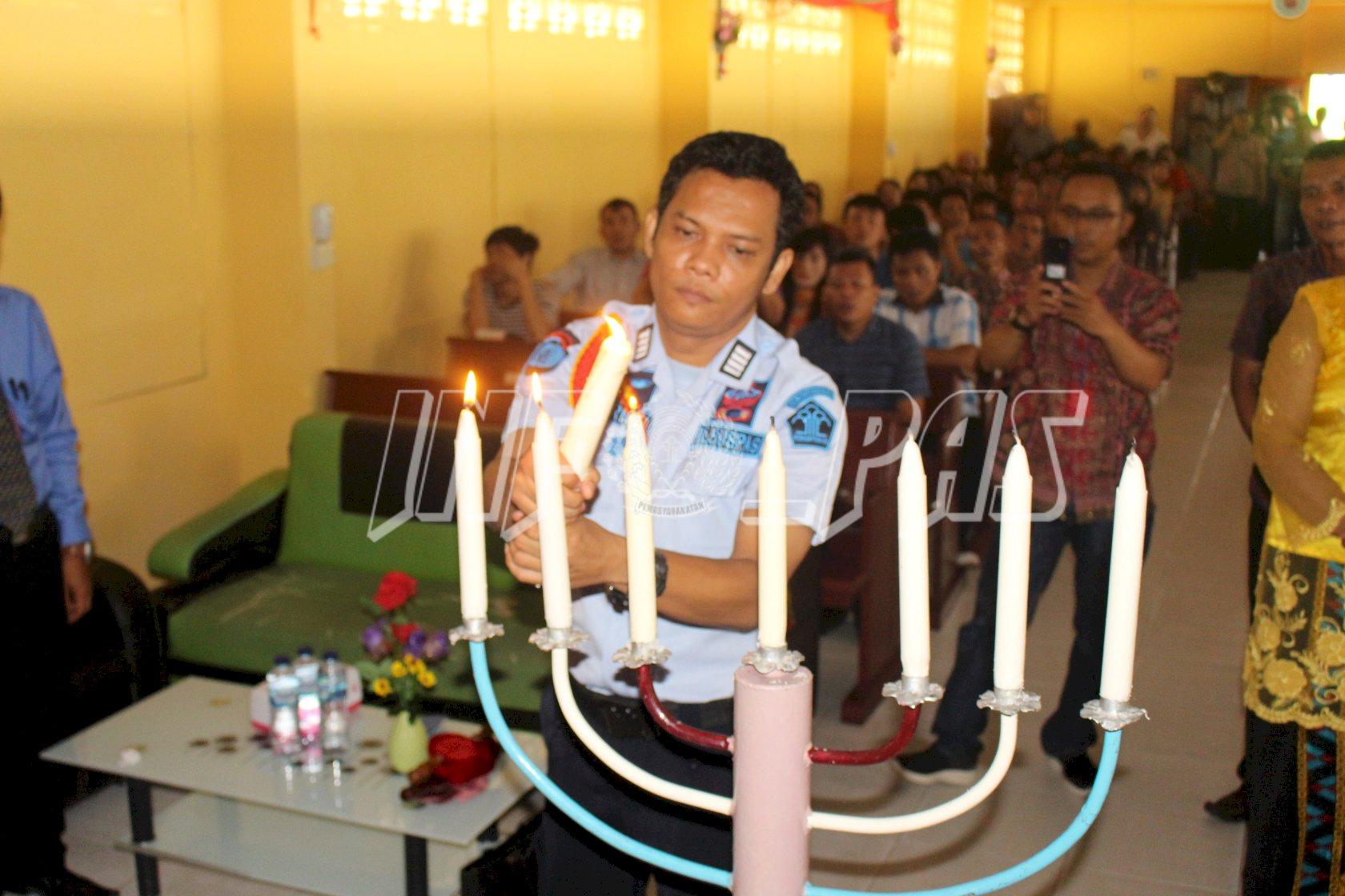 Sukacita Natal Lapas Pekanbaru, 103 Warga Binaan Dapat Remisi