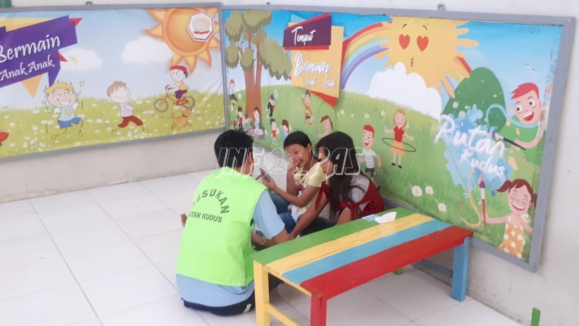 Rutan Kudus Buka Layanan Kunjungan Ramah Anak