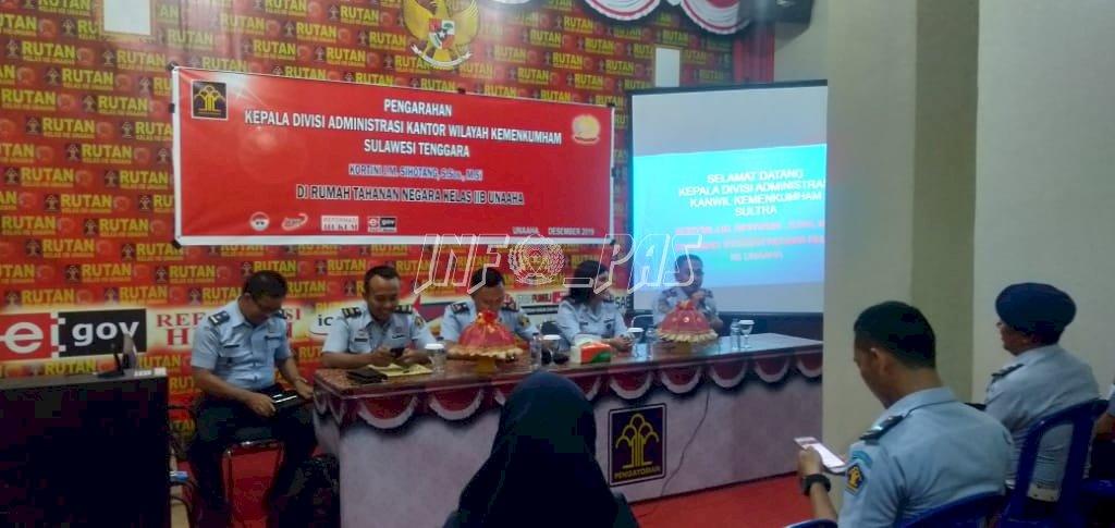 Kadivmin Sultra Sosialisasikan Pengendalian Internal di Rutan Unaaha