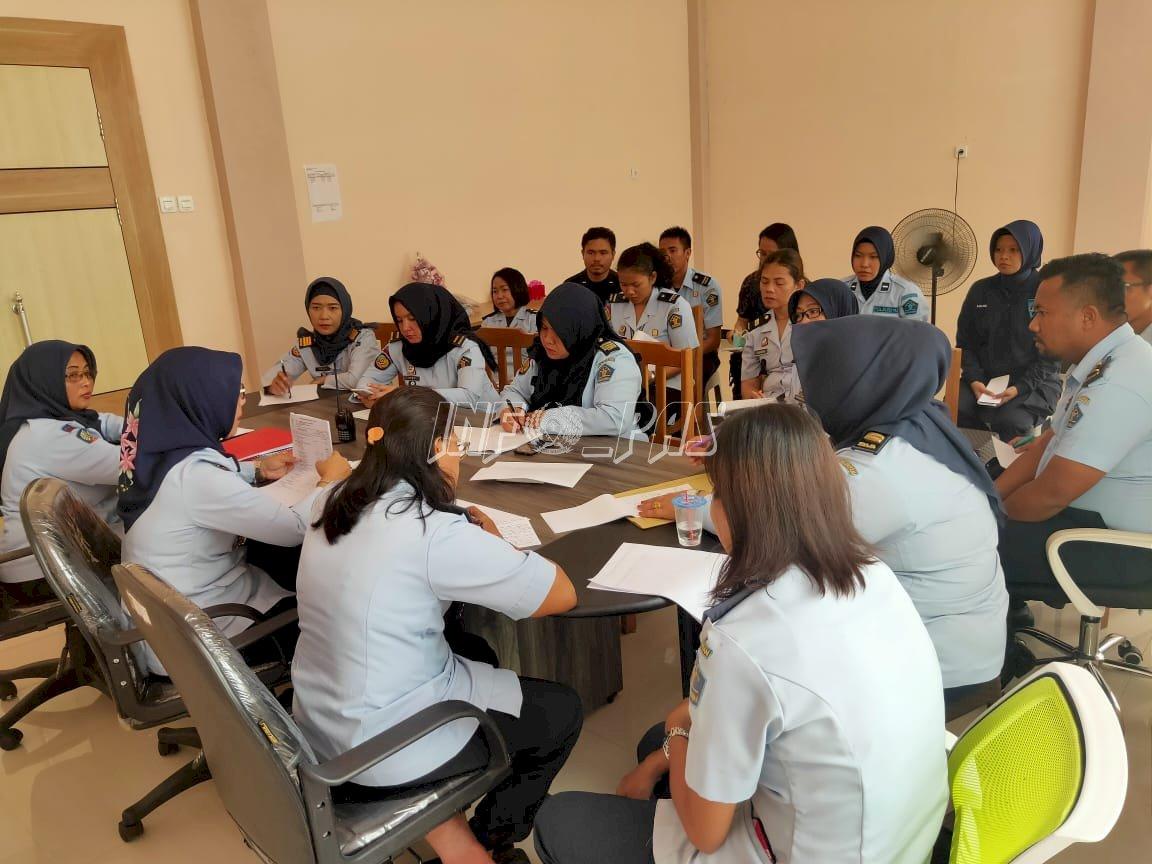 Rapat Program Kerja LPP Palangka Raya, Ini Pesan Kalapas