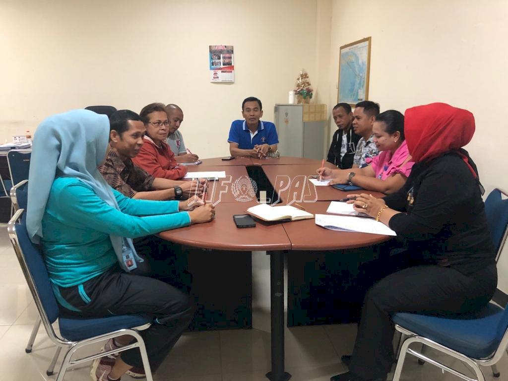 Rapat Awal Tahun, Divisi PAS Maluku Bahas Program Kerja 2020