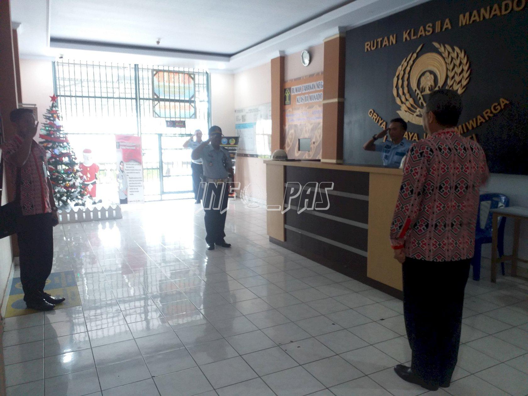 Kunjungi Rutan Manado, Ini Arahan Kakanwil Sulut