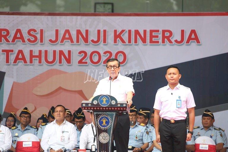 KPK dan Ombudsman RI Apresiasi Capaian Kinerja Kemenkumham