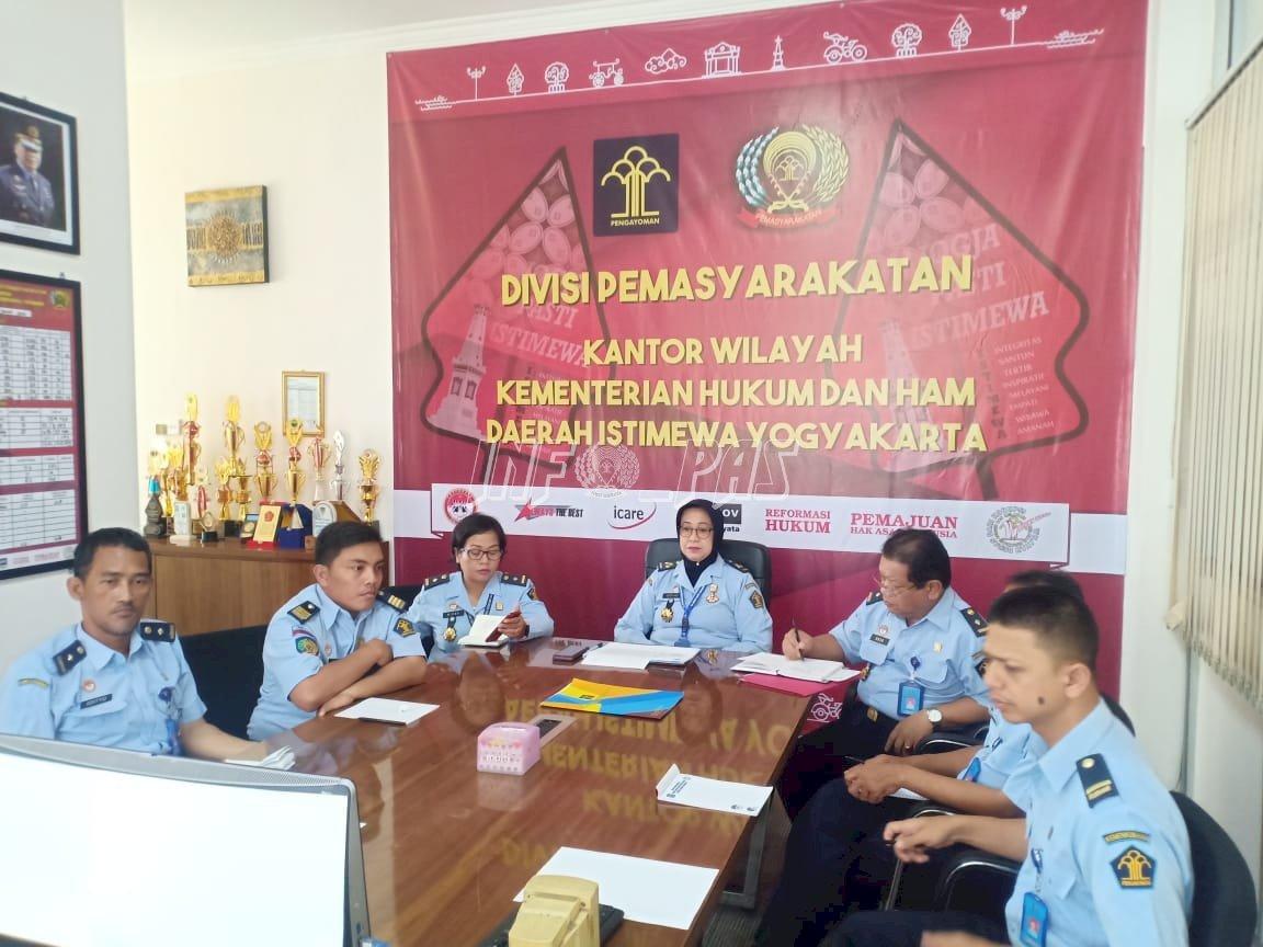 Divisi PAS DIY Ikuti Teleconference Komitmen Bersama, Pelatihan Keterampilan, dan Zero Overstaying
