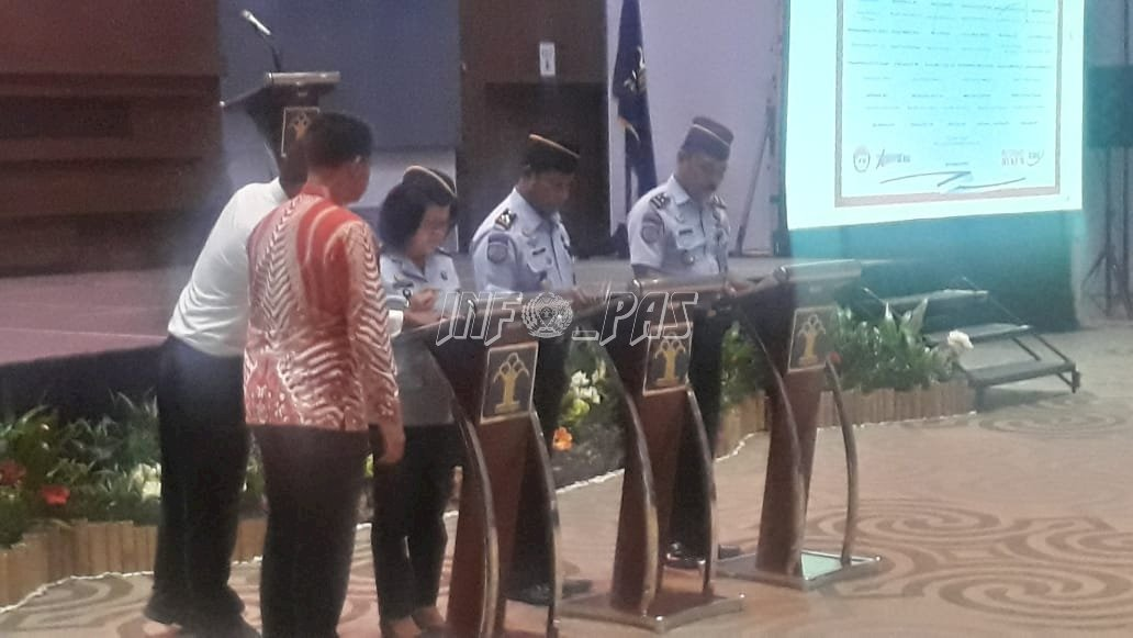 Bapas Makassar Siap Wujudkan Deklarasi Janji Kinerja Tahun 2020
