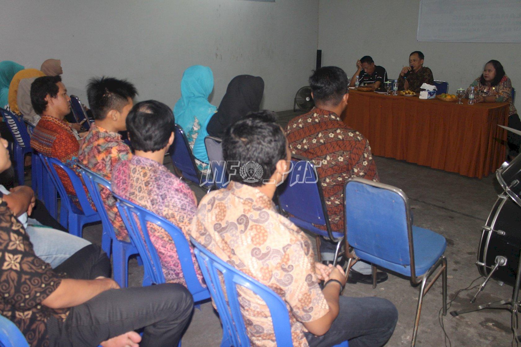Perkenalan Petugas, Ini Arahan Kepala Rupbasan Jakarta Barat & Tangerang