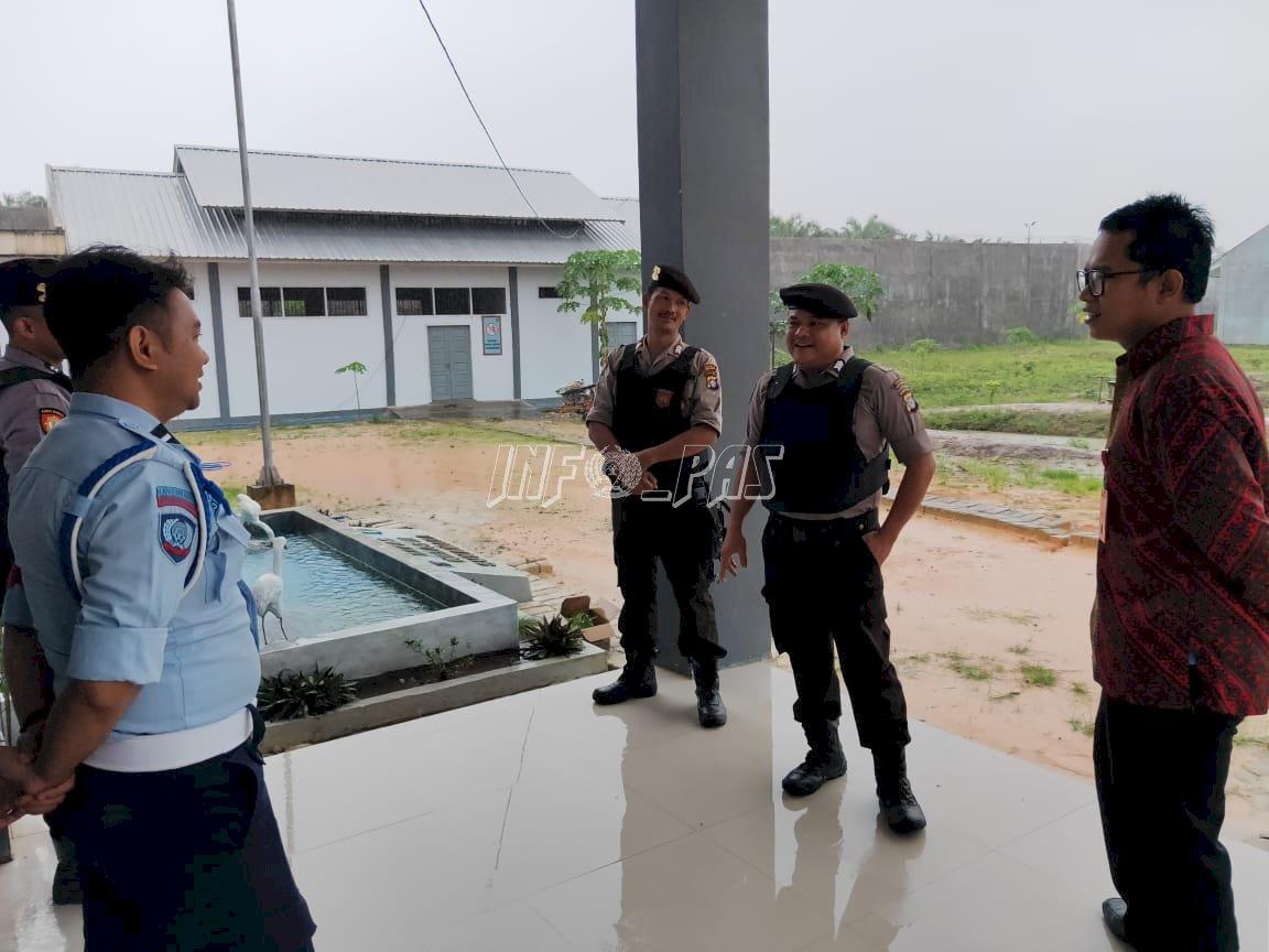 Patroli Sambang Bantu Tingkatkan Keamanan Lapas Sukamara