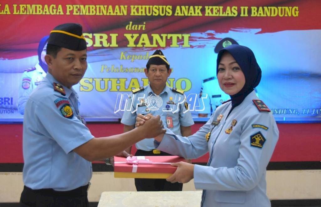 Kepala Rupbasan Bandung Jadi Plt. Kepala LPKA Bandung