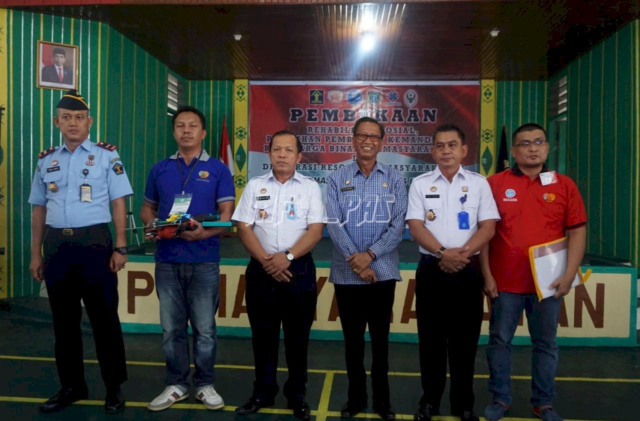 Program Rehabilitasi Sosial & Pembinaan Kemandirian WBP Lapas Polewali Resmi Diluncurkan