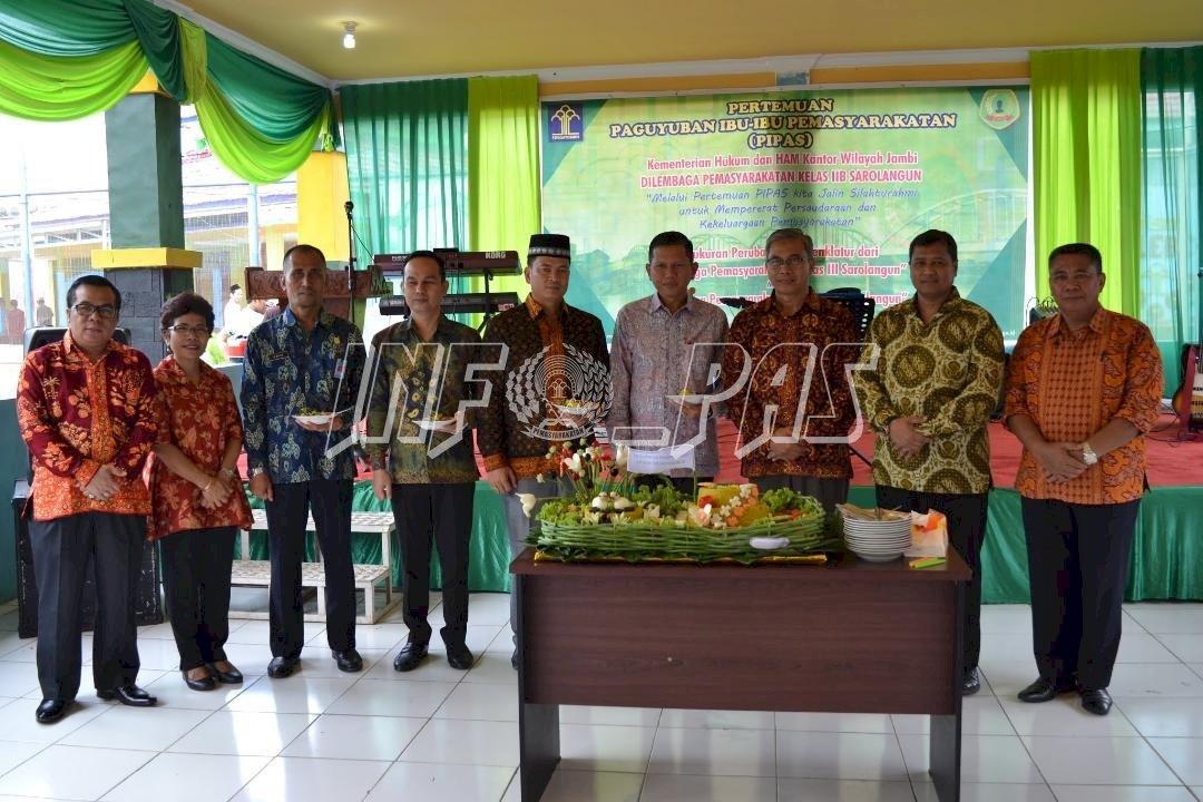 Kunjungan dan Silaturahmi Kakanwil Jambi Hingga Kemeriahan Tasyakuran Lapas Sarolangun