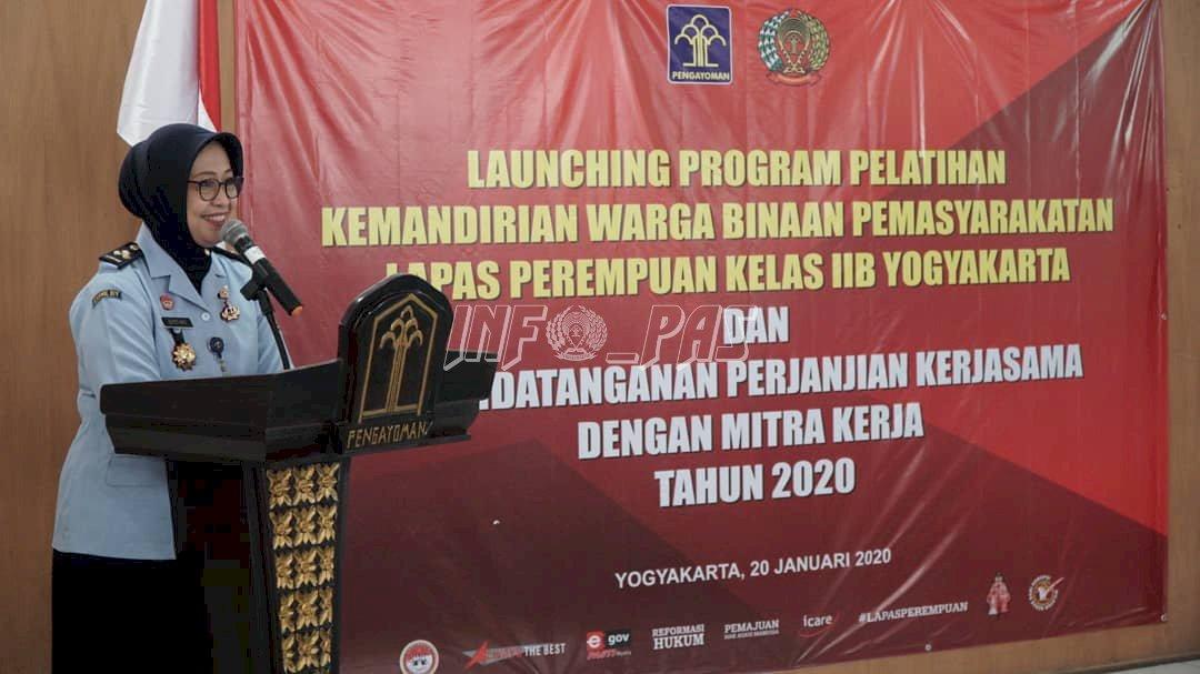 LPP Yogyakarta Luncurkan Program Pelatihan Kemandirian Bagi WBP