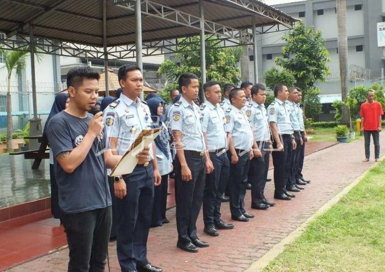 700 WBP Narkotika LPN Jakarta Ikuti Apel Pembukaan Rehabilitasi Sosial dan Medis Tahap Pertama
