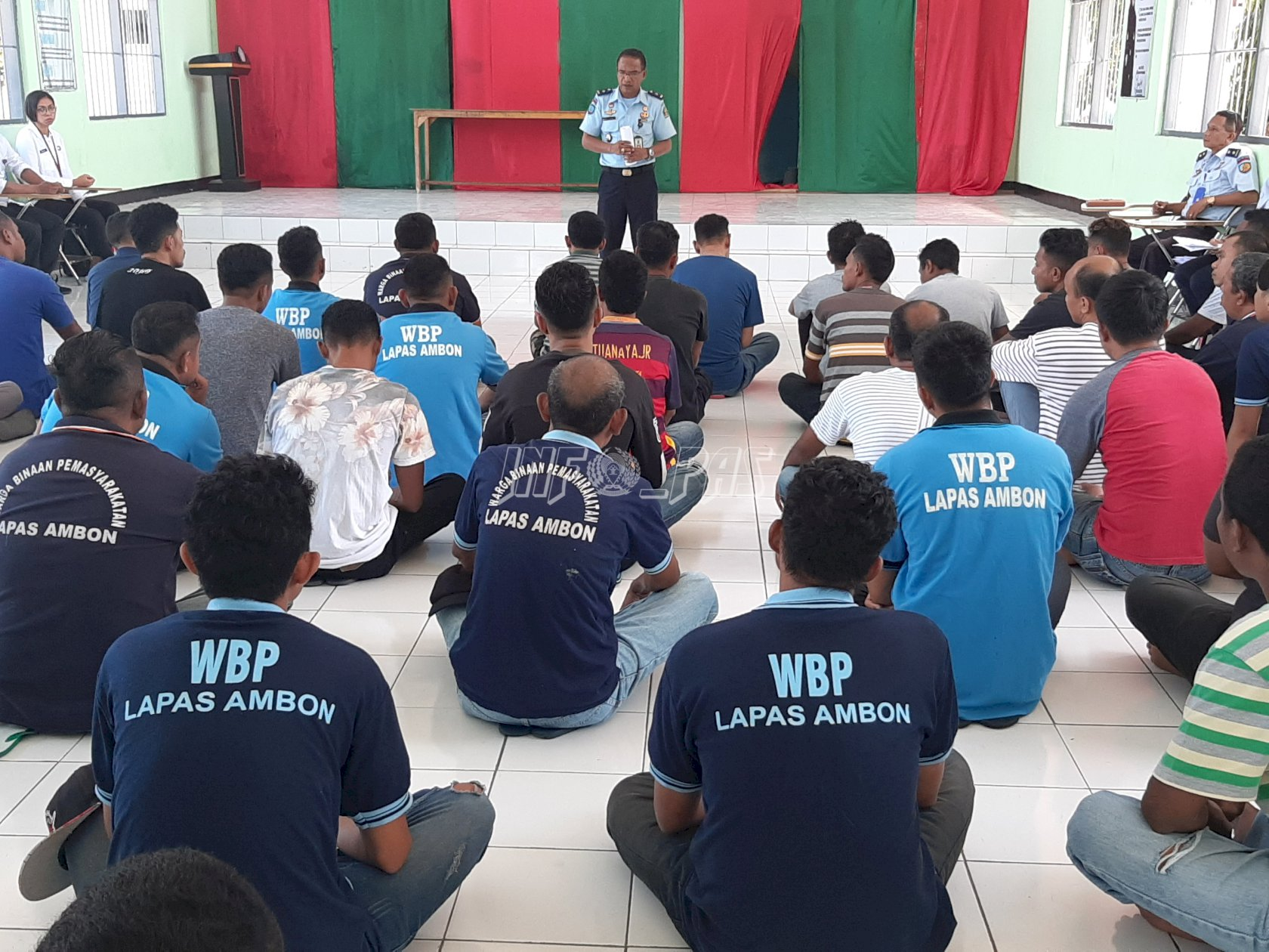60 WBP Lapas Ambon Jalani Asesmen Program Rehabilitasi Narkotika