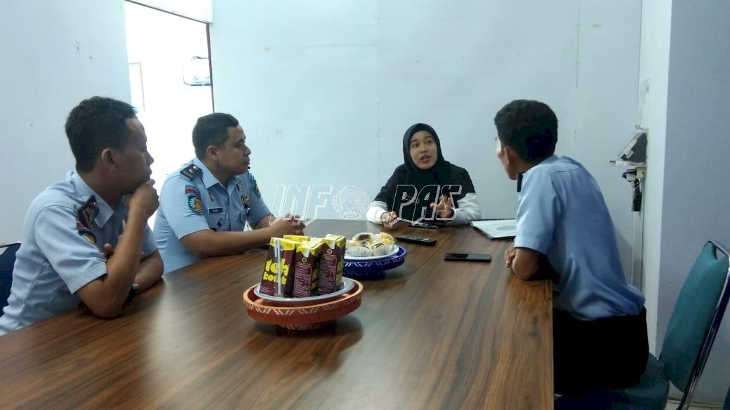 Lapas Watampone Koordinasikan Layanan Rehabilitasi WBP Dengan BNNK Bone
