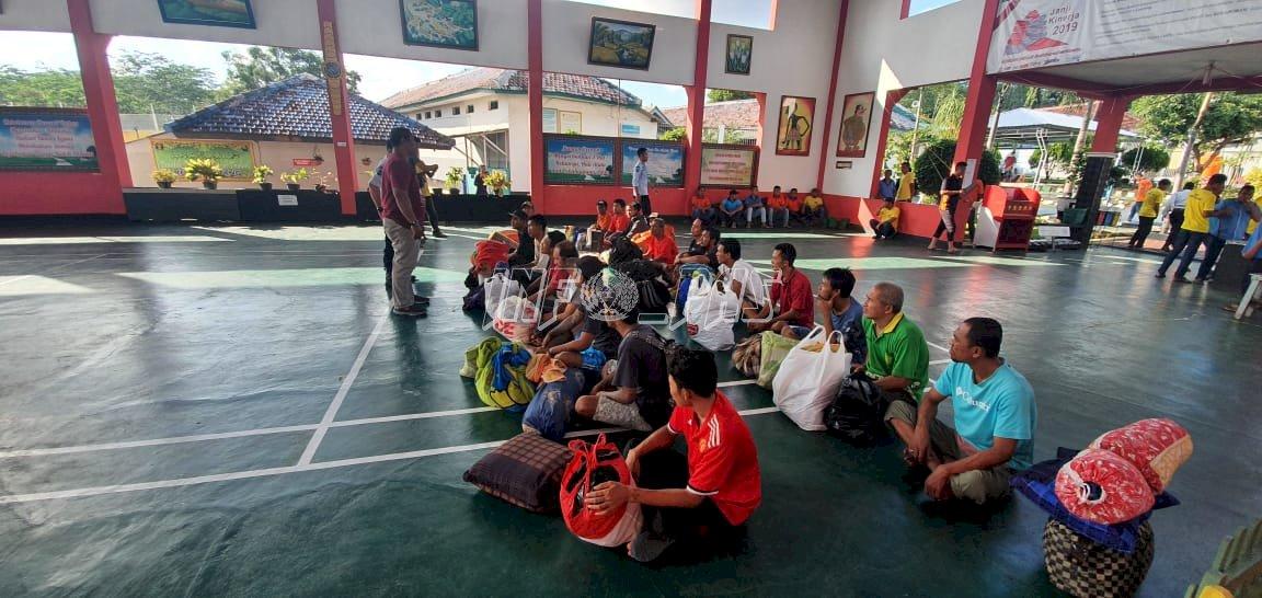Rutan Batang Terima 20 WBP Evakuasi Dari Lapas Pekalongan