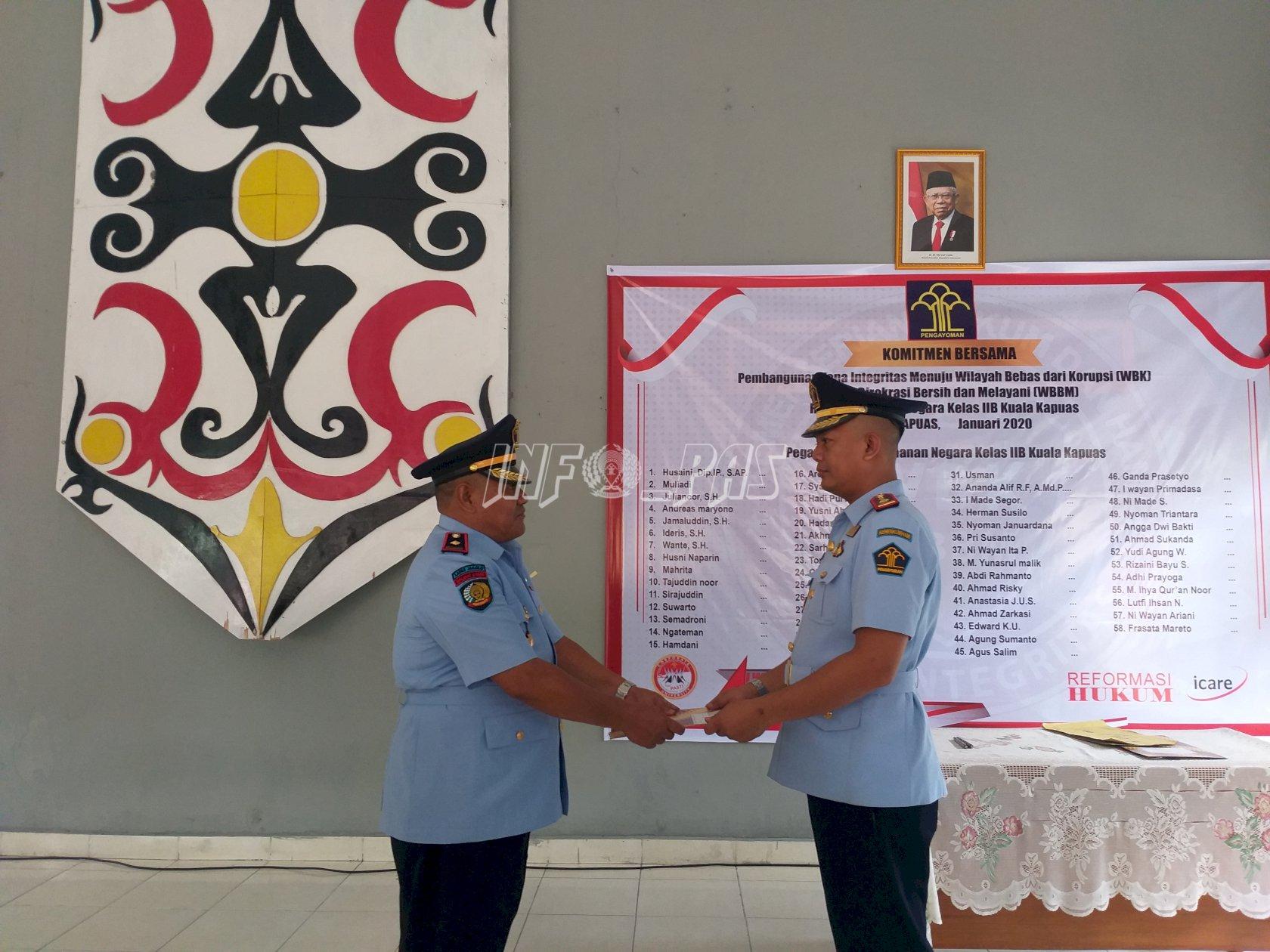 Karutan Kuala Kapuas Berganti, Toni Aji Priyanto Gantikan Husaini