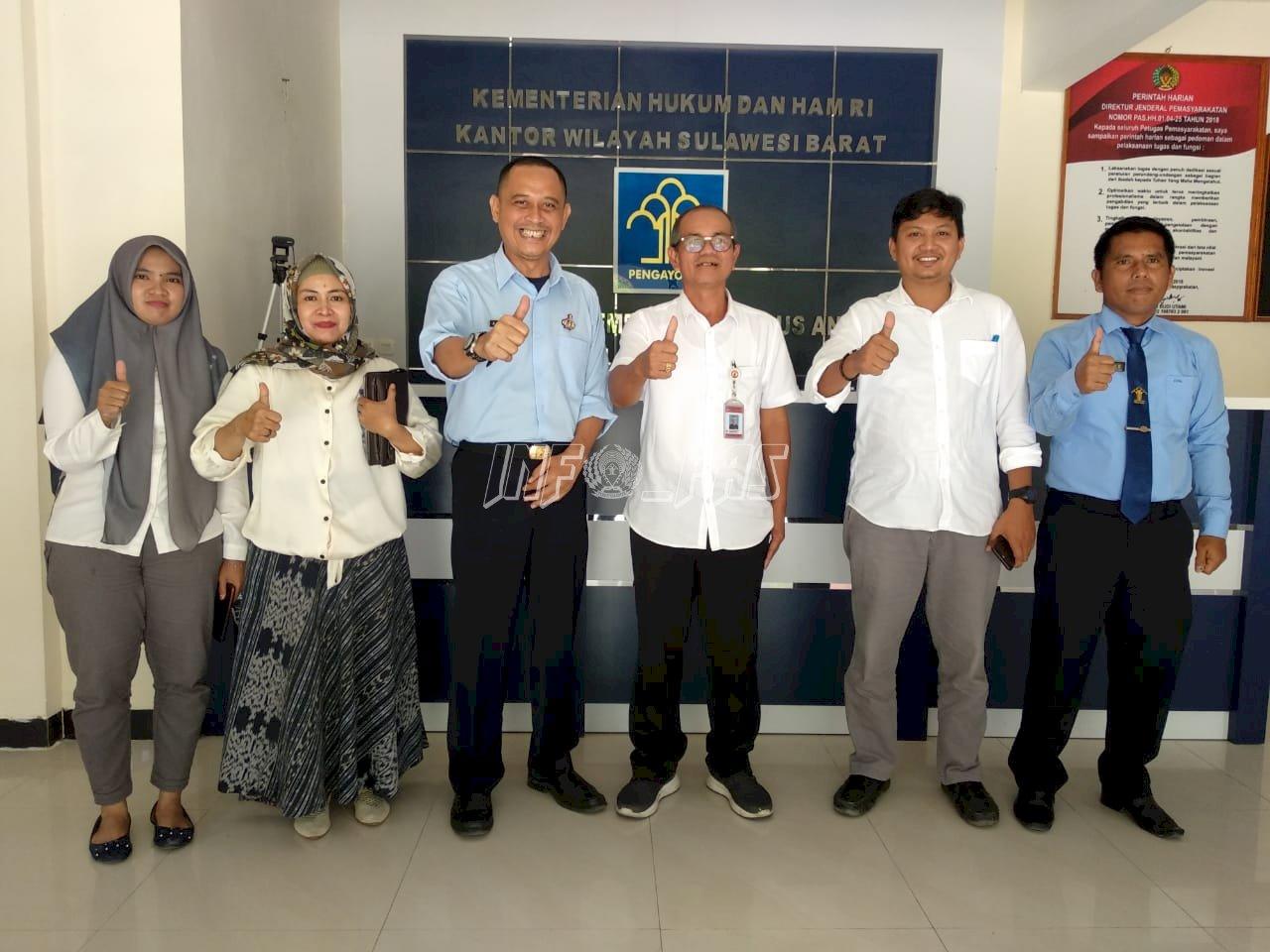 LPKA Mamuju Segera Bukukan Kerja Sama dengan PB PAUD Sulbar