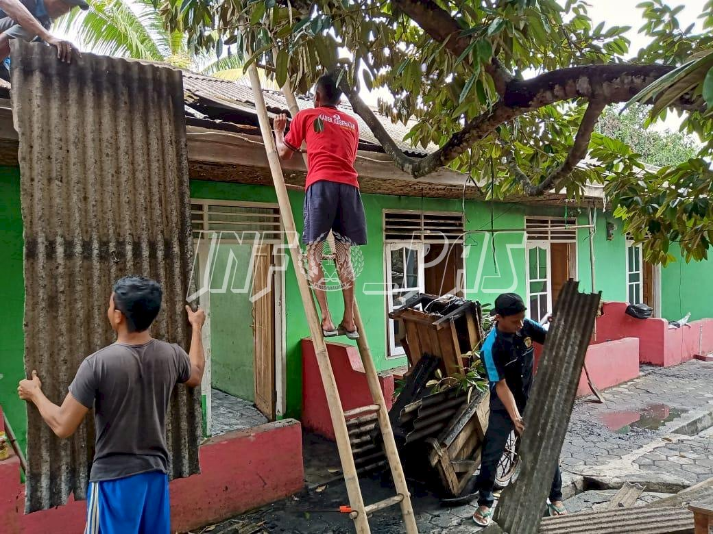 Aksi Heroik WBP Lapas Rangkasbitung Bantu Korban Kebakaran