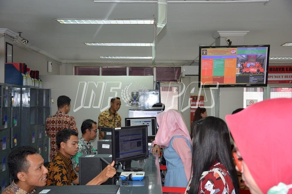 Kunjungan Kontak Langsung Antara WBP & Keluarga di LPN Jakarta