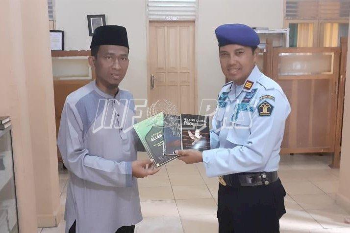 Lapas Rangkasbitung Terima Hibah Buku Yayasan Addawah