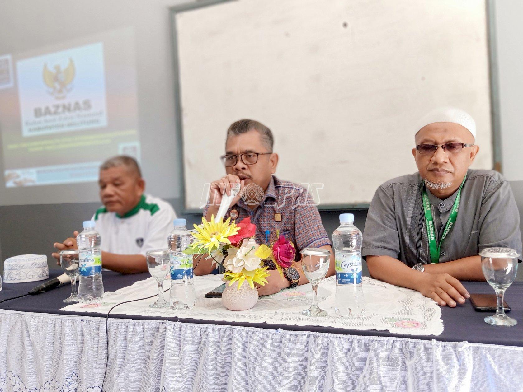 Lapas Tanjungpandan Terima Sosialisasi Optimalisasi Pengelolaan Zakat dari Baznas Belitung