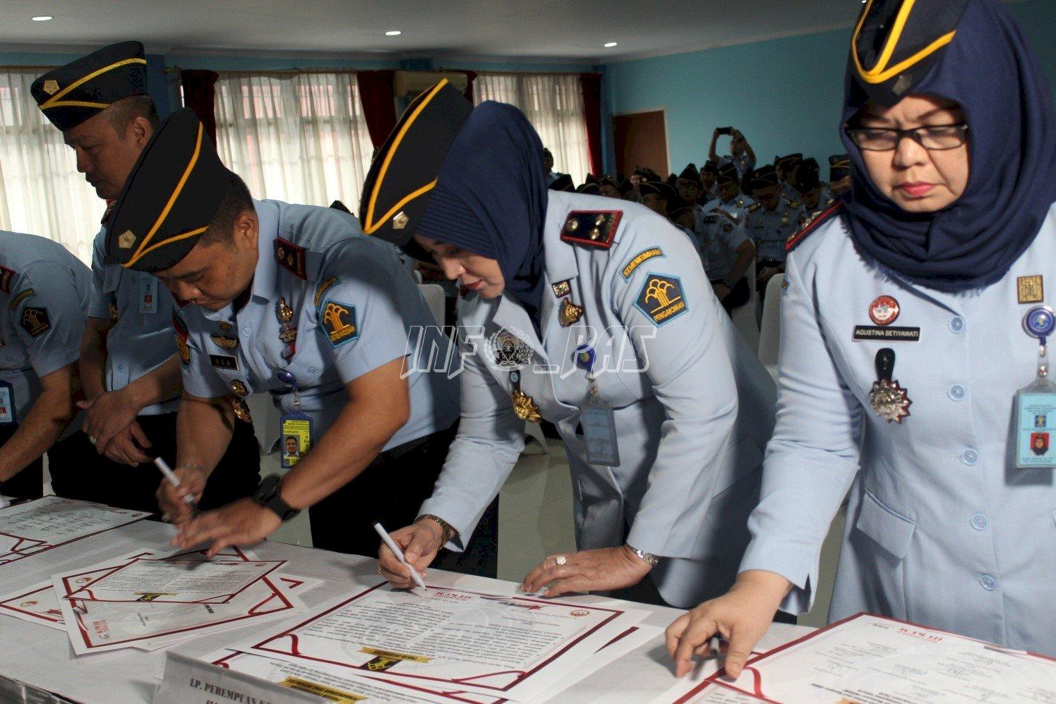 Jajaran LPP Jakarta Teken Pakta Integritas Pencanangan ZI Menuju WBK/WBBM