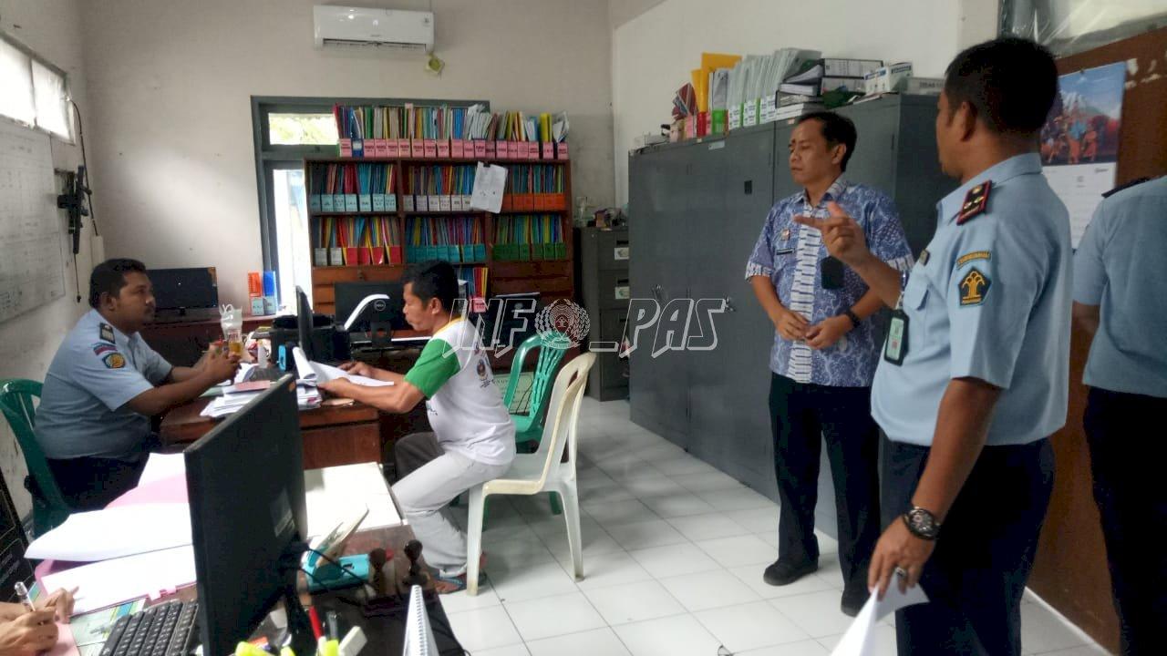 Verifikator Balitbangkumham Lakukan Verifikasi Zona Integritas di Bapas Pati