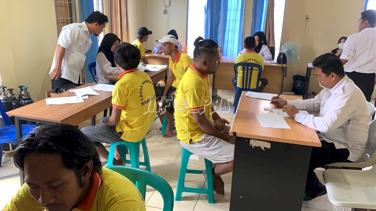 LPN Karang Intan Rampungkan Asesmen WBP Peserta Rehabilitasi
