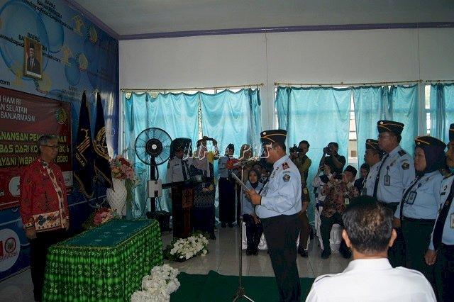 Deklarasi Janji Kinerja Wujudkan Bapas Banjarmasin Menuju WBK/WBM