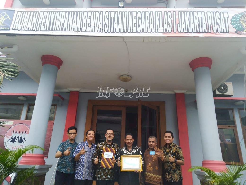 Rupbasan Jakarta Pusat Raih Penghargaan Dari KPPN Jakarta V