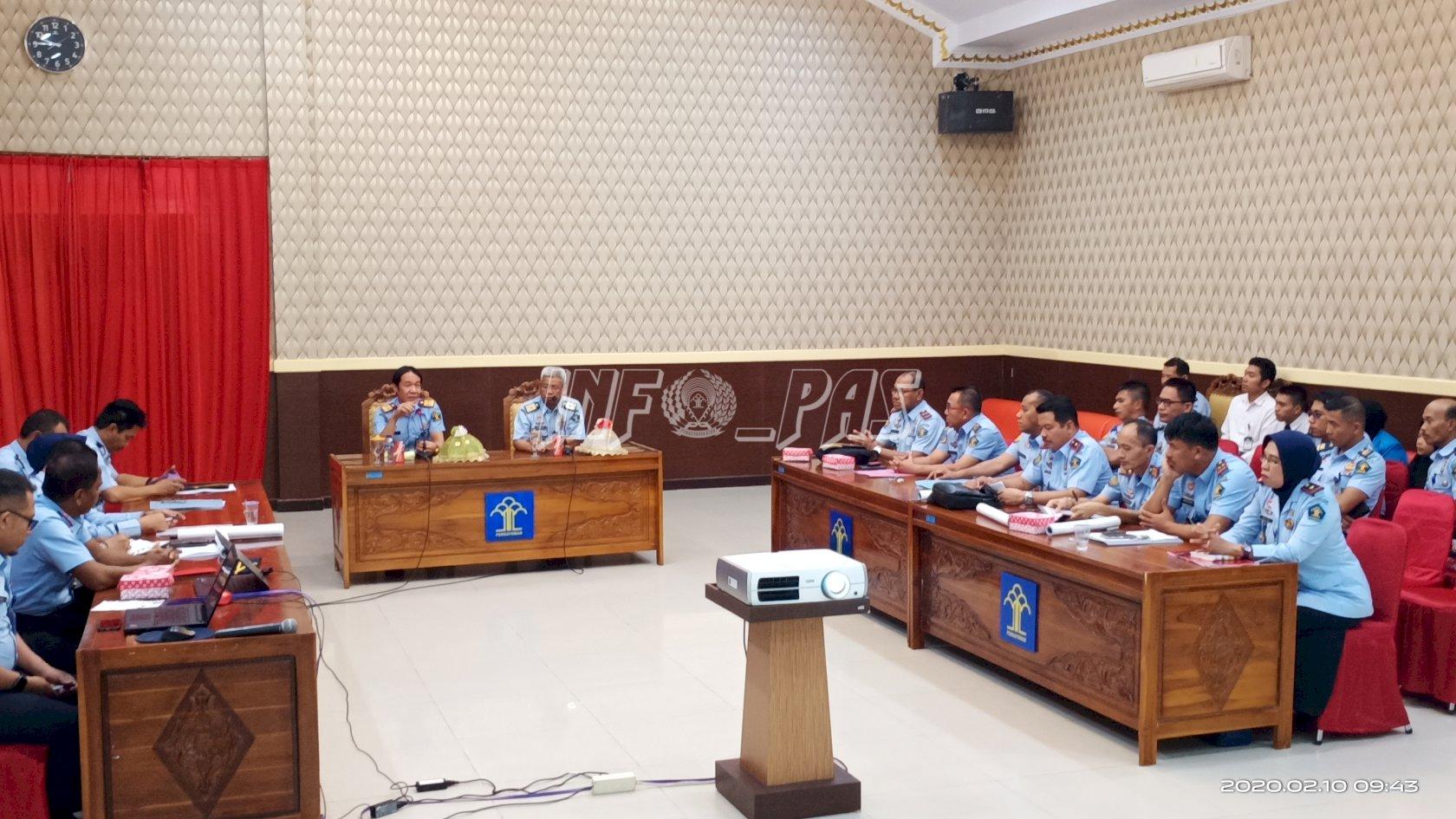 Kanwil Sultra Bertekad Wujudkan UPT Pemasyarakatan Raih WBK/WBBM