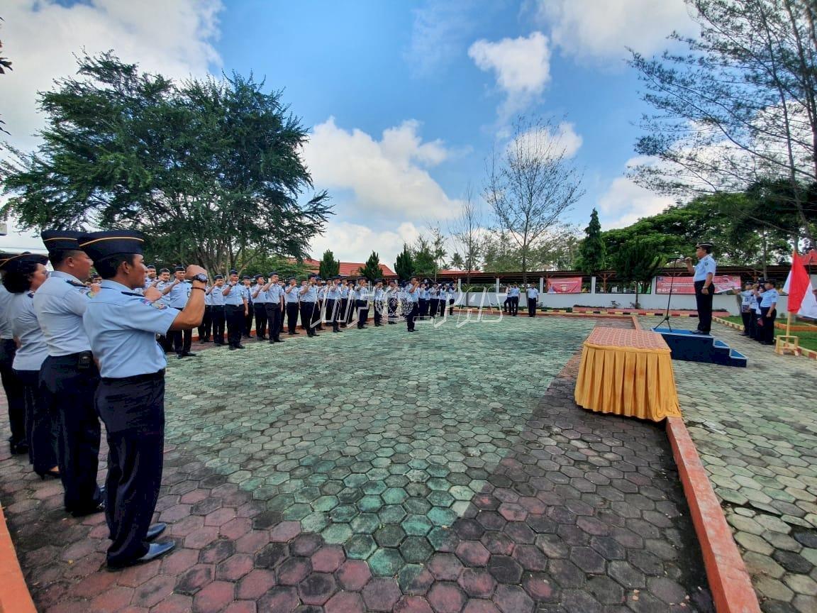 "LPKA Bandar Lampung Deklarasikan Janji Kinerja "" Transformasi SDM Digital"""