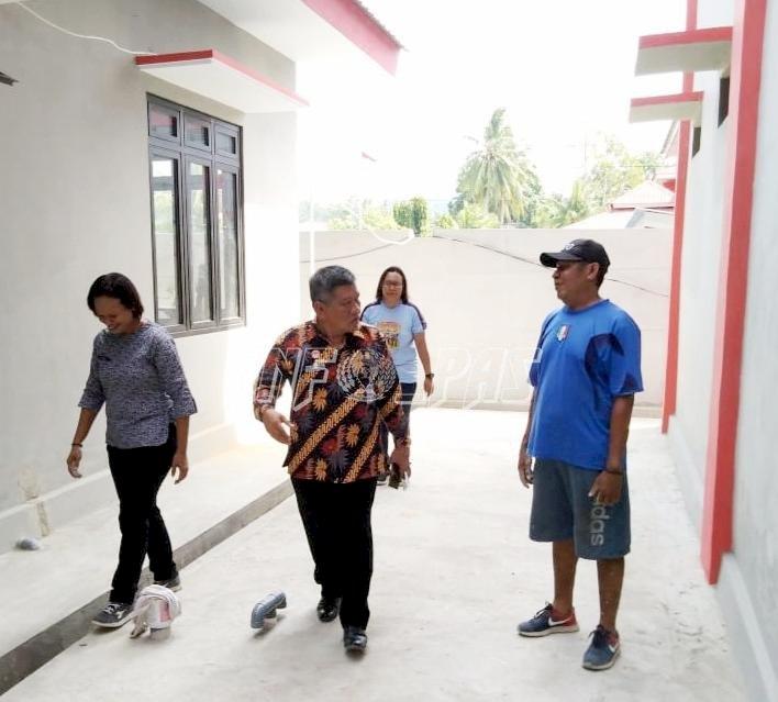 Kakanwil Kemenkumham Maluku Tinjau Calon Kantor Baru LPP Ambon