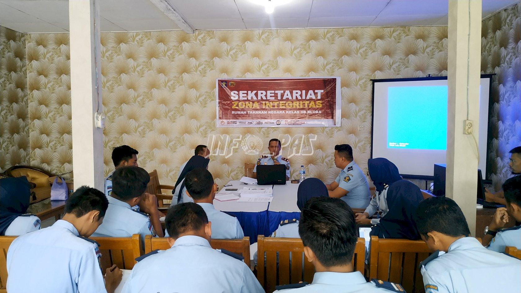 Permudah Kerja Tim Pokja, Rutan Blora Resmikan Sekretariat ZI WBK/WBBM