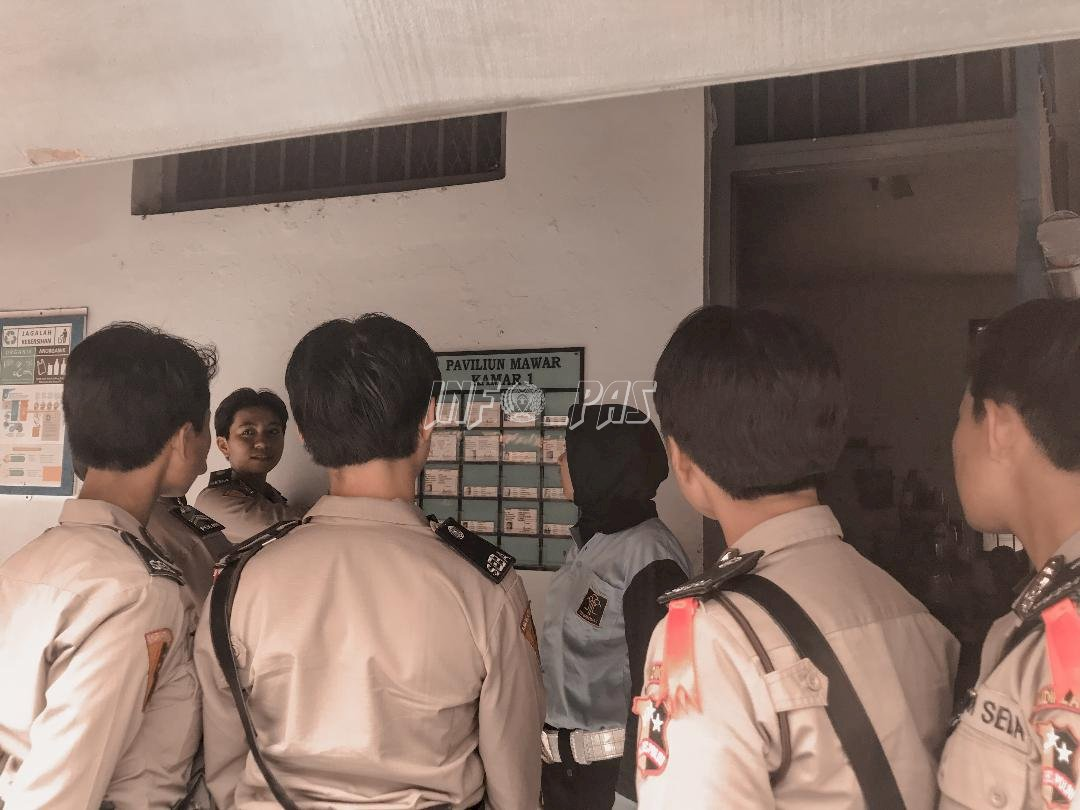 Kedatangan Calon Polwan, Ka. KPLP Kelas IIA Tangerang Paparkan Pembinaan WBP