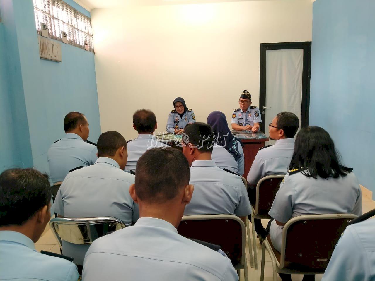 Sidak ke Lapas Narkotika Yogya, Kadiv PAS Monev Kegiatan Rehabilitasi
