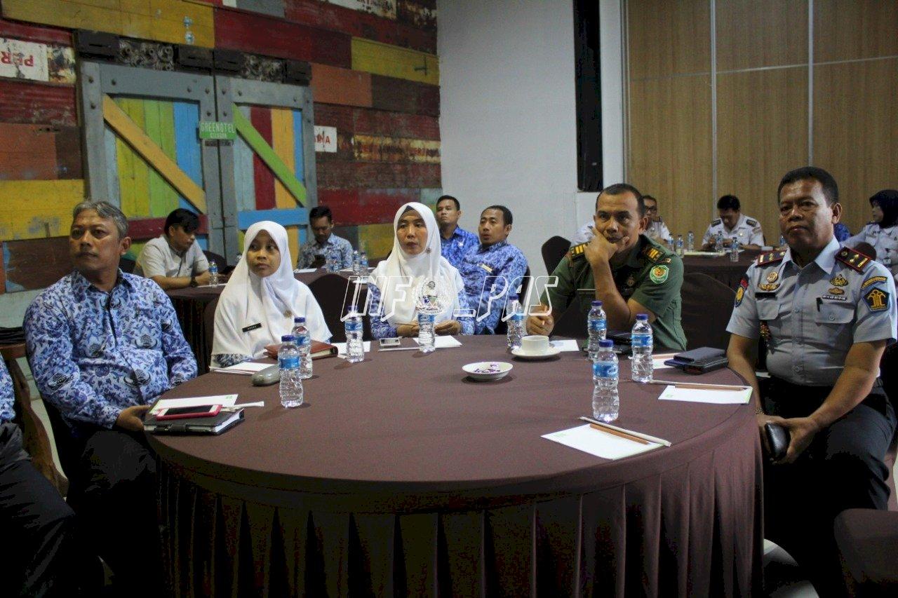 Antisipasi Coronavirus, Kalapas Cilegon Ikuti Community Based Surveilance