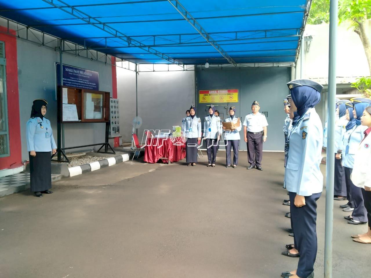 Kadiv PAS DIY Tekankan Semangat Dalam Pelaksanaan Apel Pagi di LPP Yogyakarta