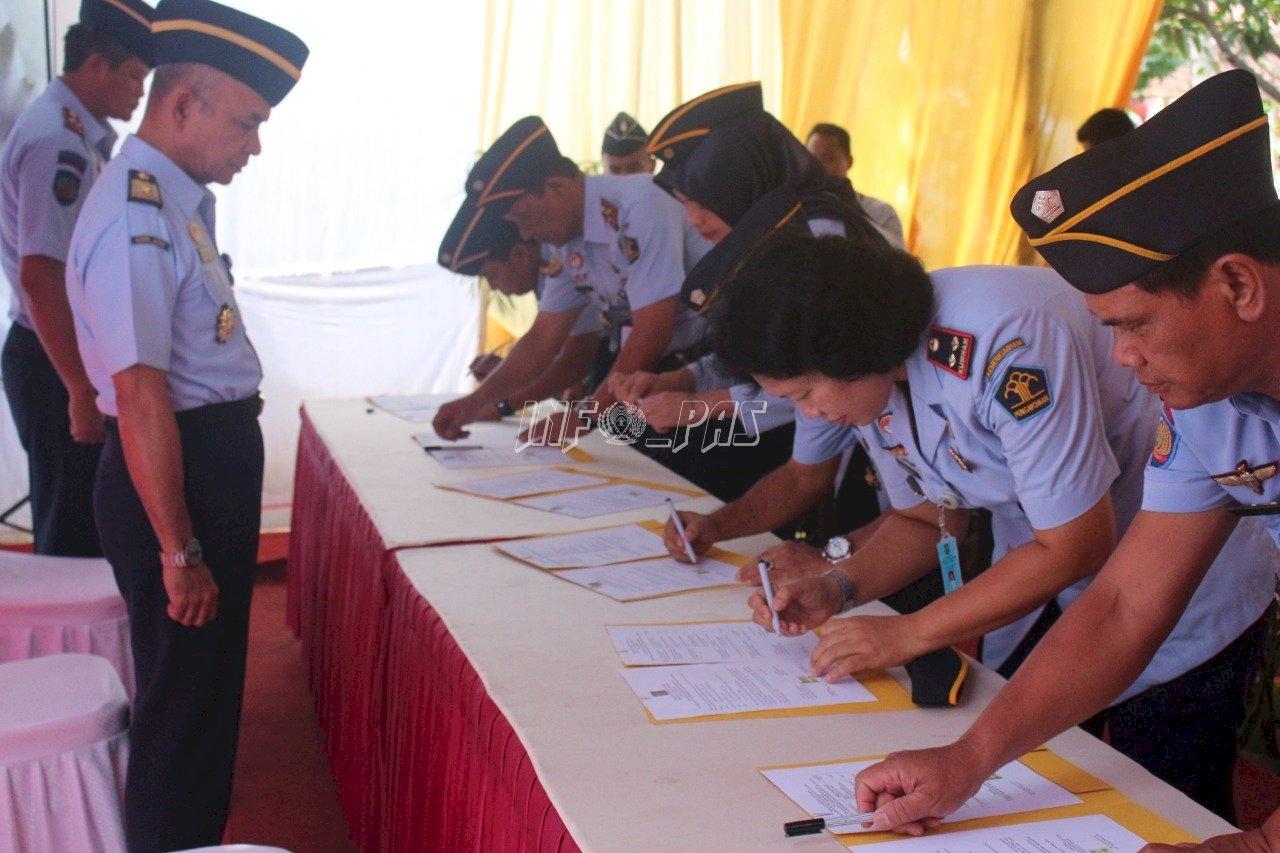 Rutan Purworejo Jadi Tuan Rumah Rakornis PAS Kanwil Jateng