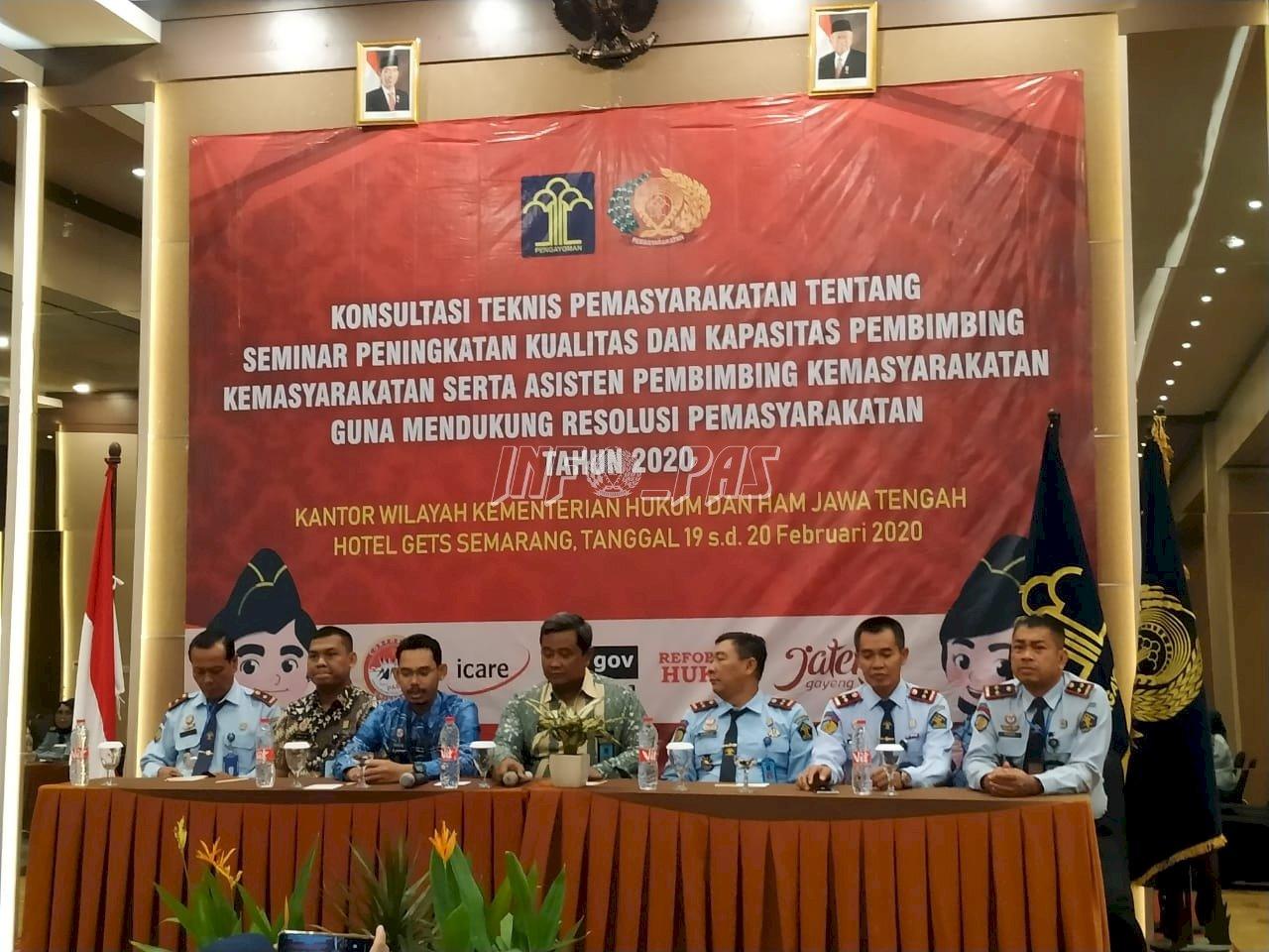 Jajaran Bapas Pati Hadiri Konstek Peningkatan Kualitas & Kapastitas PK & APK